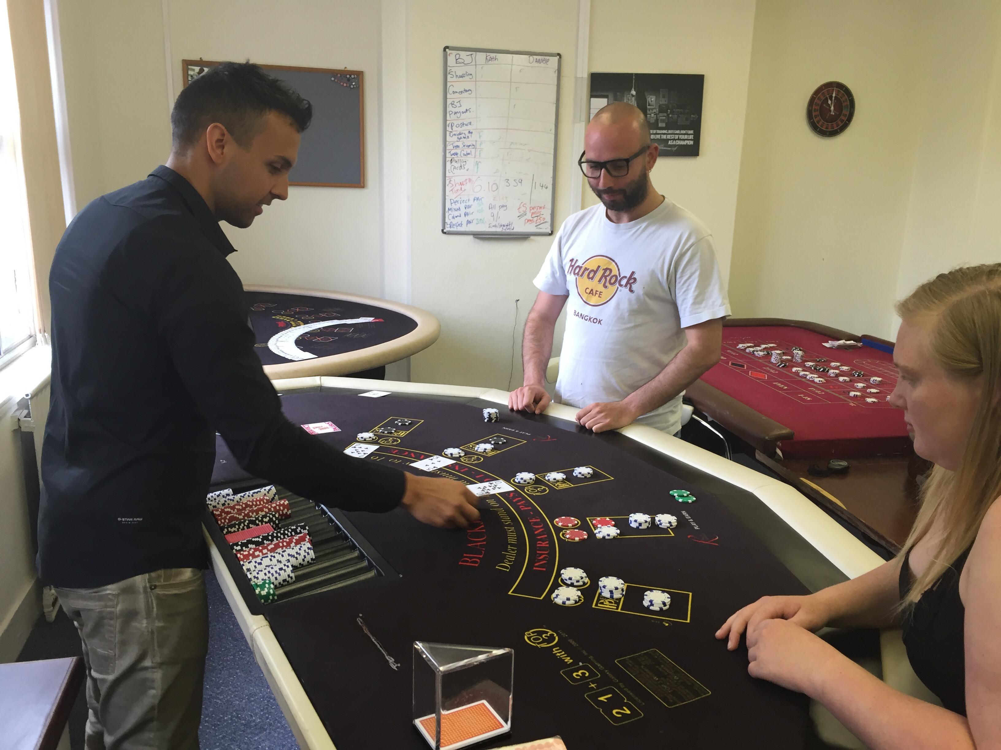 Trainee poker dealer-london poker denver co